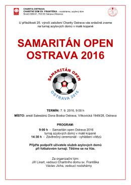 samaritán open ostrava 2016