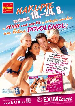 voucher sleva EXIM TOURS - MT-TOUR