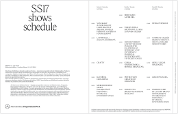 MBPFW_schow schedule_SS17