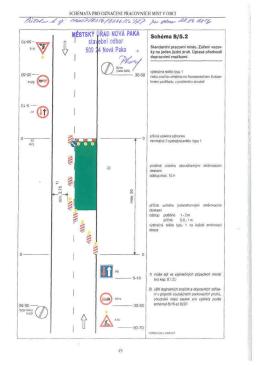 Příloha: Schémata pro označení pracovních míst