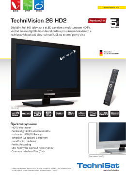 TechniVision 26 HD2