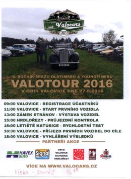 Valotour 2016 - jízda historických vozidel