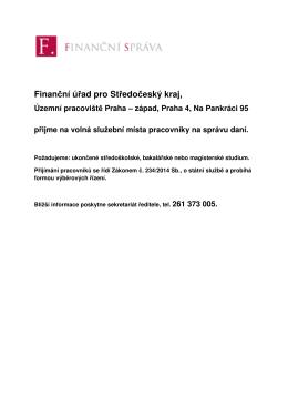 Finanční úřad pro Středočeský kraj