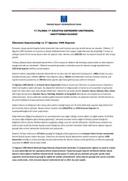 basın açıklaması metni - TMMOB İnşaat Mühendisleri Odası