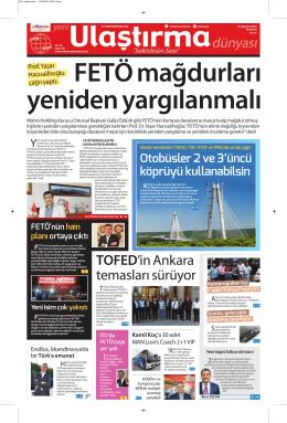 TOFED`in Ankara temasları sürüyor