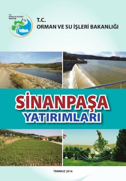 sinanpaşa - Orman ve Su İşleri Bakanlığı