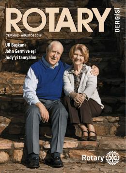 UR Başkanı John Germ ve eşi Judy`yi tanıyalım