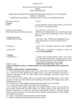 (cctv) sistemi temin ve tesisi (2705)