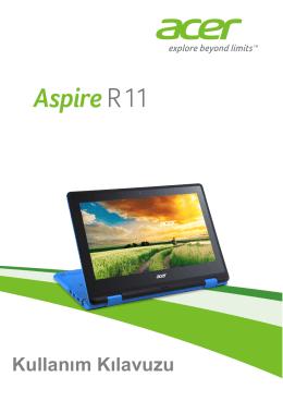 Acer Aspire R3-131T Kullanım Kılavuzu