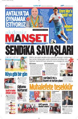 Rüya gibi bir gün - Antalya Haber - Haberler