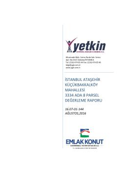 istanbul ataşehir küçükbakkalköy mahallesi 3334