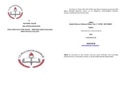 adıyaman spor lisesi öğretmen seçim (uygulama) sınavı 17.08.2016