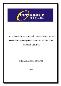 Katalog - Cet Group Hizmet