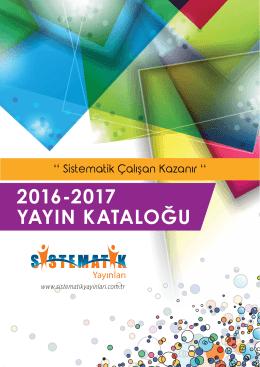 sistematik katalog 2016-2017 13