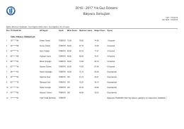 Sınıf Eğitimi Bilim Dalı Sınıf Eğitimi (YL) (Tezsiz)