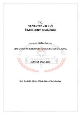ücretli - nizip ilçe millî eğitim müdürlüğü