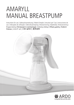 AMARYLL MANUAL BREASTPUMP