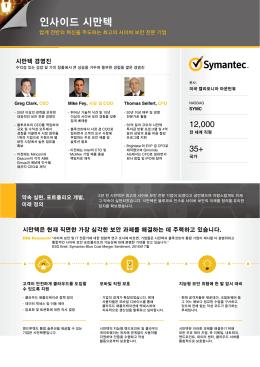 인포그래픽 보기 - Symantec