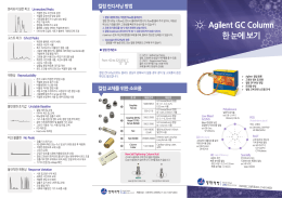 Agilent GC Column 한 눈에 보기