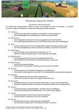 24.Pflanzenbau_aktuell_2016_NW_Sortenwahl