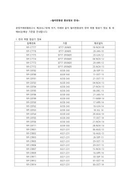중요정보 안내> 공정거래위원회고시 제2016
