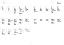 상영 시간표 2016. 8. 10 ― 9. 11