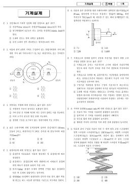 2012년 지방직 9급 기계설계 A책형