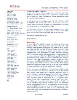 News Update - Profindo International Securities