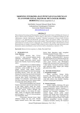 Unduh file PDF ini - Jurnal Fakultas Farmasi Umi