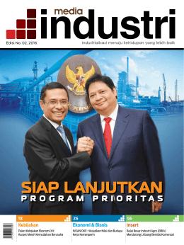 Majalah Media Industri - Kementerian Perindustrian