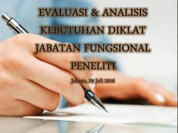AKD DJFP Tk. Lanjutan Jakarta