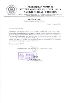 disini - IAIN Syekh Nurjati Cirebon