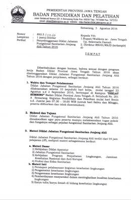 badan pendidii(an dan pelatihan - Badan Diklat Provinsi Jawa Tengah