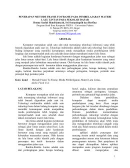 this PDF file - jom   universitas pakuan