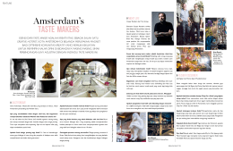 Amsterdam`s TasTe Makers