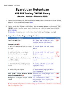 Syarat dan Ketentuan - Hirose Financial UK