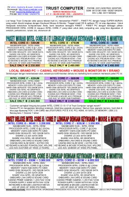 PC AMD - Trust Computer