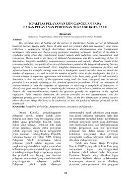 this PDF file - Jurnal Ilmiah Universitas Tadulako