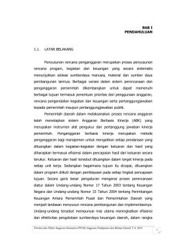 PPAS MURNI 2016 - Bappeda Kabupaten Natuna