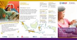 daerah intervensi menyelamatkan ibu dan bayi baru lahir di indonesia