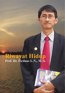 Prof. Dr.Firdaus LN, M.Si
