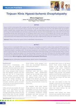 08_243Tinjauan Klinis Hypoxic-Ischemic Encephalopathy
