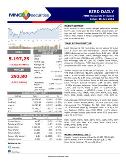 bird daily - MNC Securities