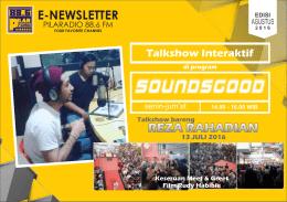 e-newsletter - pilaradio 88.6 FM