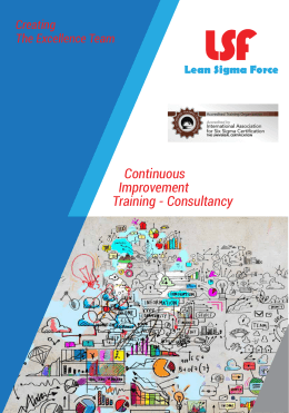 Continuous Improvement Training - Consultancy