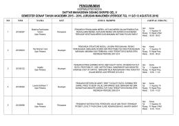 File: JADWAL SIDANG SKRIPSI GEL 5 SEM. GENAP 15-16