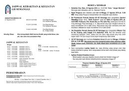 GII Semanggi - Gereja Injili Indonesia Hok Im Tong