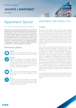 Apartment Sector - Colliers International