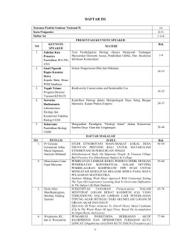 v DAFTAR ISI - Research Report - Universitas Muhammadiyah Malang