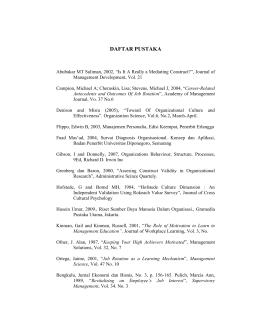DAFTAR PUSTAKA - Digital Library UWP